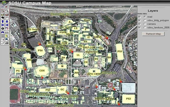 SDSU Campus Map - San Diego State University