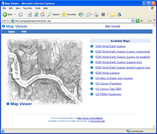 About Map Viewer (Third Edition)